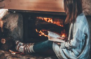 Reading by fire
